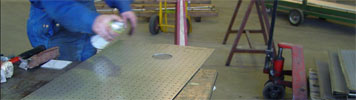perforated plate manufacture